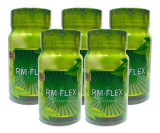 Rmflex 150 Capletas Fórmula Original. (5 Frascos)