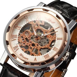 Reloj Clásico Hermoso Transparente Fino Estuche Otros Modelo