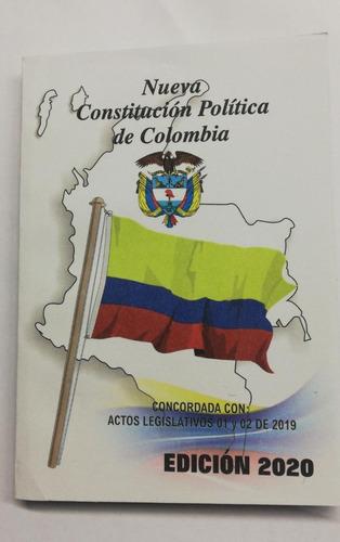 Constitución Política De Colombia Edición Actualizada