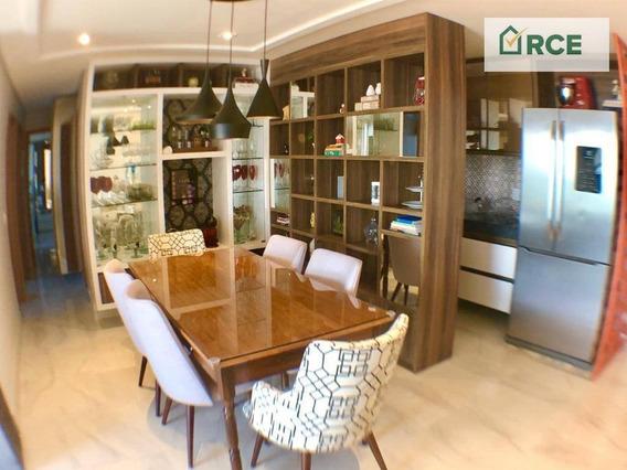 Apartamento Com 3 Dormitórios À Venda, 97 M² Por R$ 549.000 - Petrópolis - Natal/rn - Ap0194