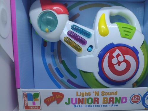 Guitarra Educacional Sonidos Luces Nuevo Bebé