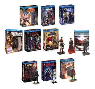 Dc Universe Pack De Peliculas Batman Superman Joker Justice