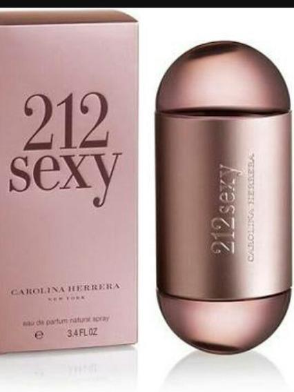 Perfume 212 Sexy, 100 Ml Novo