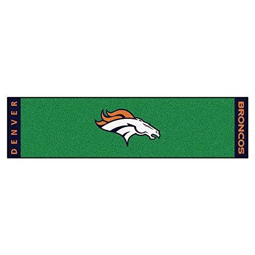 Fanmats Nfl Denver Broncos Nylon Face Putting Green Mat