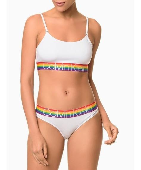 Top Calvin Klein Pride Edition Alça - Original