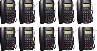 Kit 10 Teléfonos Homedesk Tc-9200 Casa U Oficina Alámbrico