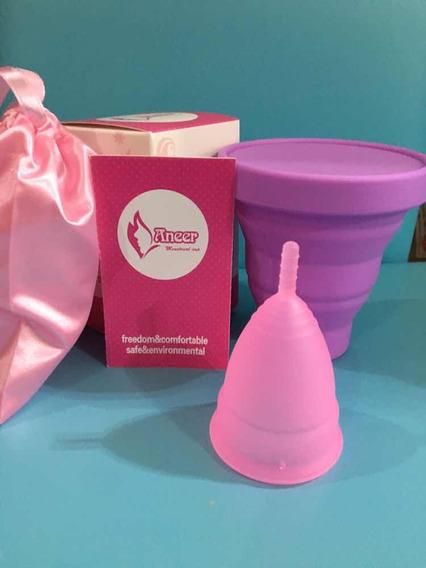 Copa Menstrual Anner Y Vaso Esterilizador