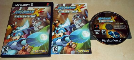 Megaman X Collection Play 2 Americano Completo!! Jogaço!!
