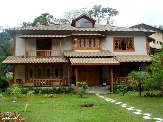 Casa Em Condomínio Para Locação Em Teresópolis, Quebra Frascos, 3 Dormitórios, 3 Suítes, 4 Banheiros, 2 Vagas - Loc133