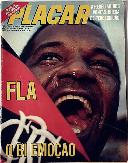Placar 1979 Revista Nº 470 Flamengo E Emoção