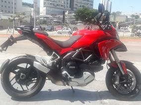 Ducati Multistrada 1200 2013 Verm C\ 24.800 Km Impecavel