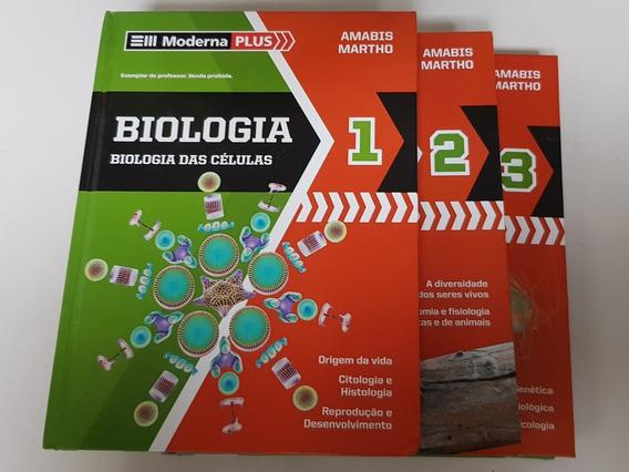 Coleção De Livros De Biologia Amabis Martho