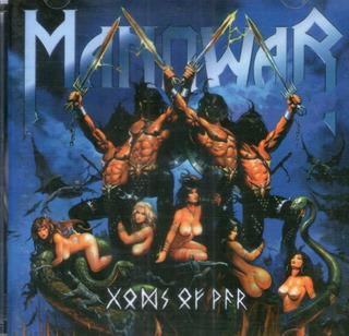 Cd Manowar - Gods Of War - Novo***