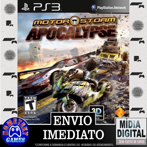 Imagem 1 de 3 de Motorstorm Apocalypse - Psn Ps3 Play 3 Pronta Entrega