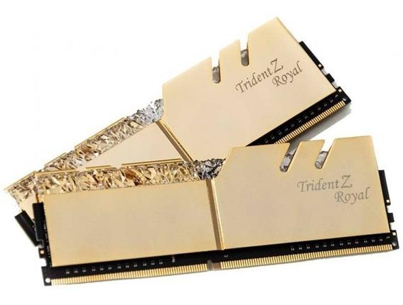 Memoria Gskill Trident Z Royal Rgb Pc4 24000 Ddr4 16gb 3000