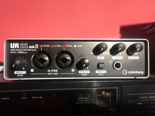 Interfaz De Audio Steinberg Ur 22 Mkii Impecable