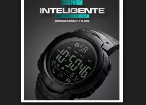 Relógio Masculino E Feminino Inteligente Com Bluetooth Ofer