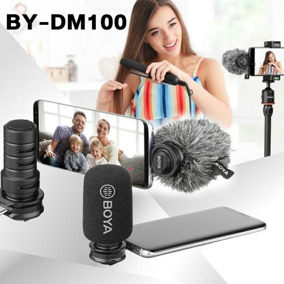 Microfone Boya By-dm 100 - Usado Só 5 Vezes