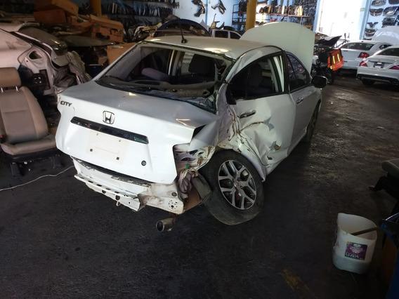 Honda City 2010 En Partes Desarme De Aseguradora Para Refacc