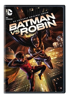 Dvd : - Batman Vs Robin (full Frame, Eco Amaray Case)