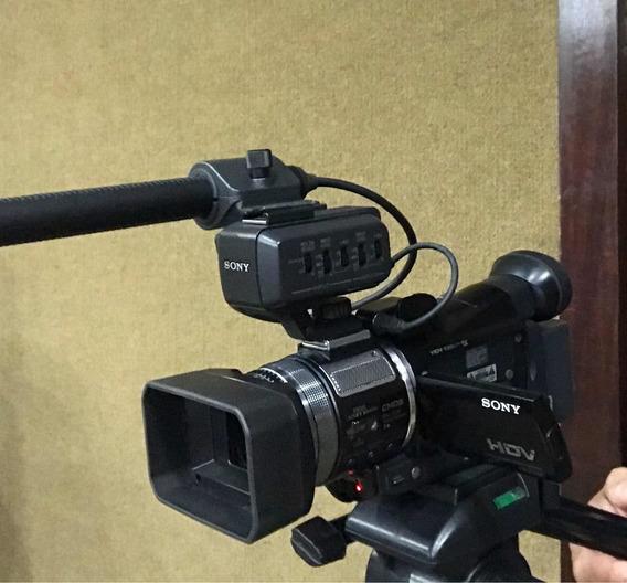 Câmera Sony Hvr-a1u Completa Com Placa De Captura Easycap