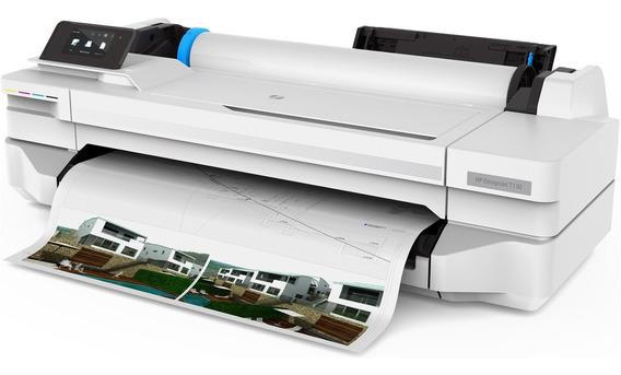 Impressora Plotter Hp T130 24 Lançamento - C/ Bulk