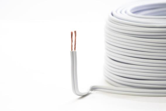 Cable Duplex Calibre 14 Awg Pot Flexible 50 Metros