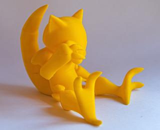 Abra - Pokemon - Impresión 3d