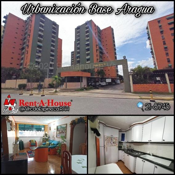 Apartamento En Venta En Base Aragua Mls #21-8745 Aea