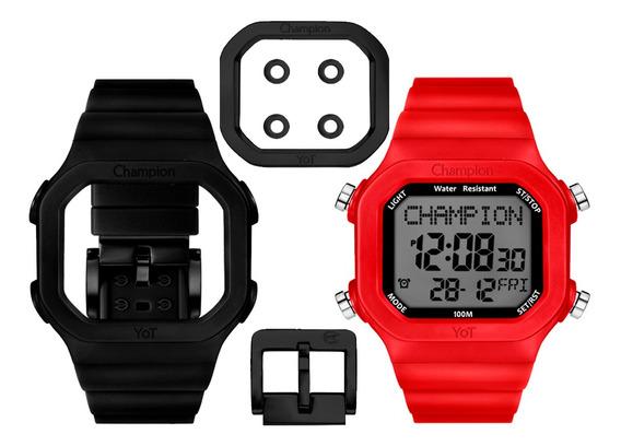 Relógio Unissex Champion Original Com Garantia E Nfe