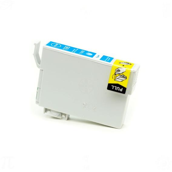 Cartucho De Tinta Para Epson 196 Cyan Compativel 13,5ml