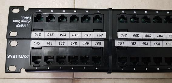 Patchpanel Systimax 24 Port Usados En Perfecto Estado