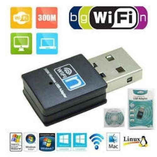 Adaptador 150 Mbps Wireless-wi-fi 802.11g Usb Dongle