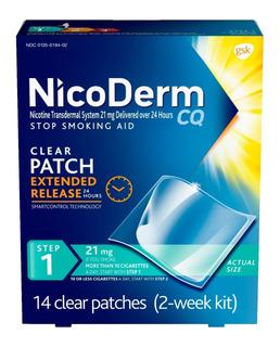 Nicoderm Parche Nicotina Etapa 1 Dejar De Fumar Kit 2 Semana