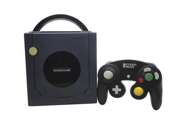 Console Nintendo Gamecube Roxo Nintendo Pronta Entrega