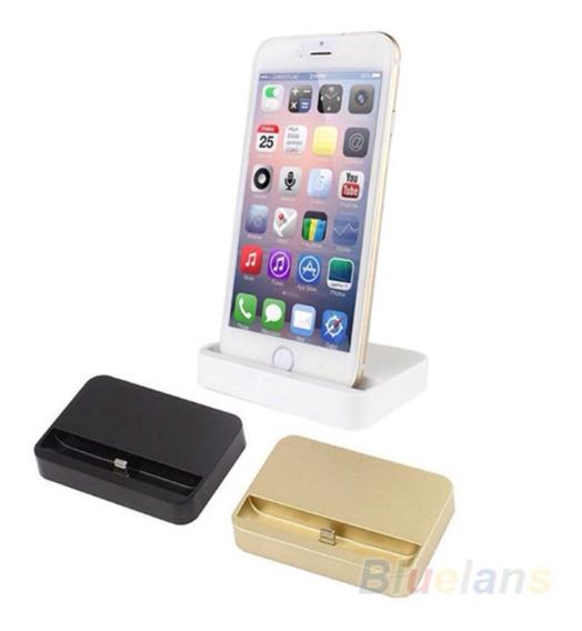 Dock Station iPhone 5 5c 5s 6 Carrega E Sincroniza