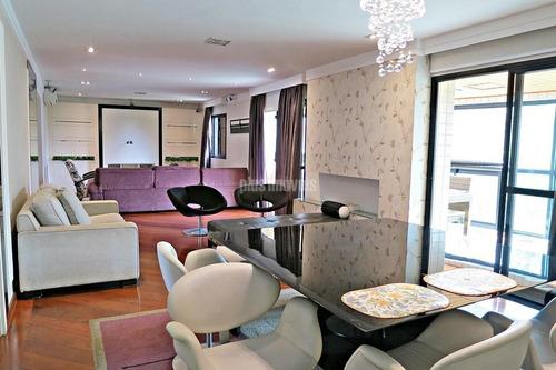Apartamento 4 Dormitórios 3 Suites 4 Vagas Depósito No Panamby!!! - Pp15408