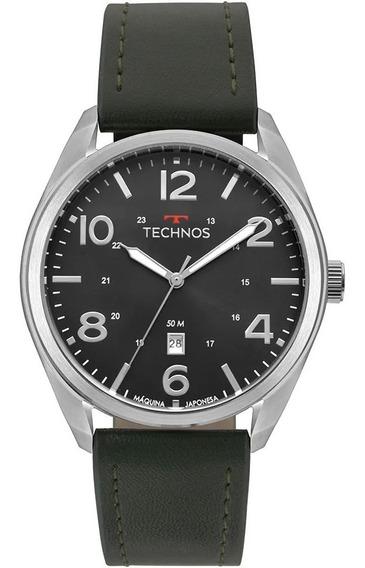 Relógio Technos Masculino Prateado Performance 2115msz/0p