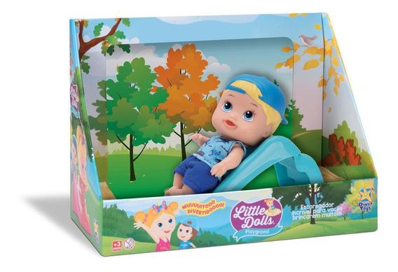 Little Dolls Escorregador Menino 8095 - Divertoys