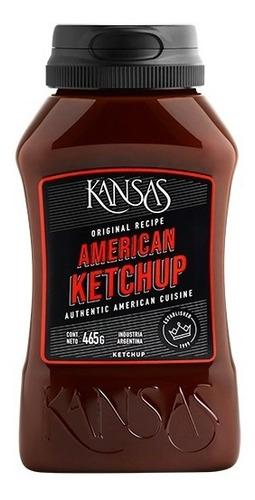 Imagen 1 de 5 de Ketchup Kansas X 465 Gr Aderezo