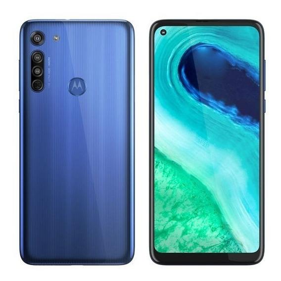 Celular Motorola Moto G8 Xt2045 Dual 6,4 64gb 4gb Ram Azul