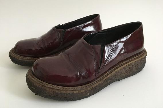 Zapatos De Charol Mishka Con Plataforma