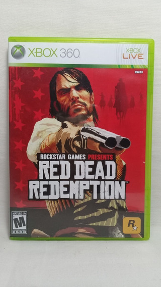 Red Dead Redemption Xbox 360 Original Completo