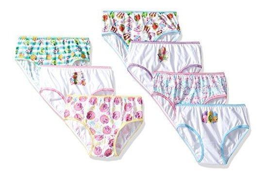 Shopkins 7 Pk Girl Panty