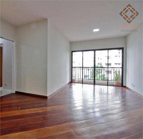 Imagem 1 de 30 de Apartamento Para Compra Com 3 Quartos E 2 Vagas Localizado Em Pinheiros - Ap55127
