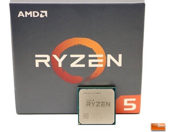 Processador Amd Ryzen 5 1600x 3.6ghz 19 Mb Am4