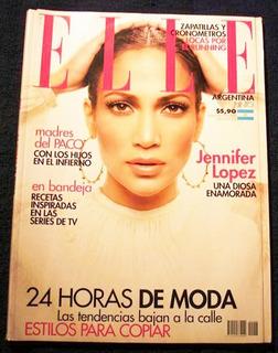 Jennifer Lopez Revista Elle Argentina 2007 Exc Como Nueva