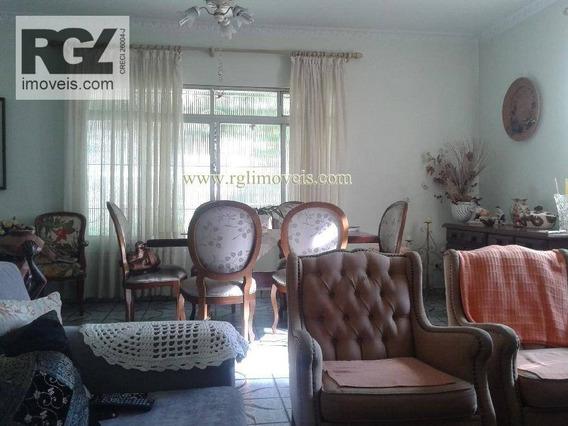 Casa Residencial Para Locação, Ponta Da Praia, Santos - So0016. - Ca0089