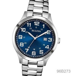 Reloj Bulova 96b273 96b274 100% Acero Cristal Duro Seguro X