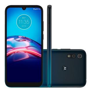 Celular Motorola Moto E6s Plus Xt2053 Dual 32gb 2gb Azul Nfe